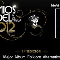 SONQOY de Mavi Díaz & Las Folkies nominado a los Premios Gardel 2012